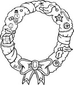 wreath coloring page wreaths coloring pages search results