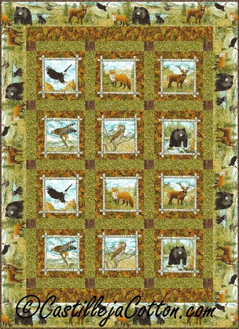 Nature Quilt by 271 Best Images About Eagle Wolves Deer And Nature Quilts On Quilt Wildlife Quilts