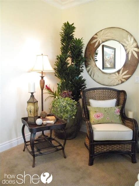 decorating secret 5 hang a mirror in every room room by room decorating secrets cozy chair vignettes