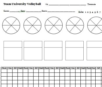 printable volleyball worksheets volleyball coach resources volleyball coach chuck rey