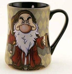 Disney Sketchbook Ceramic Cup No Handle - grumpy coffee mug disney recipes
