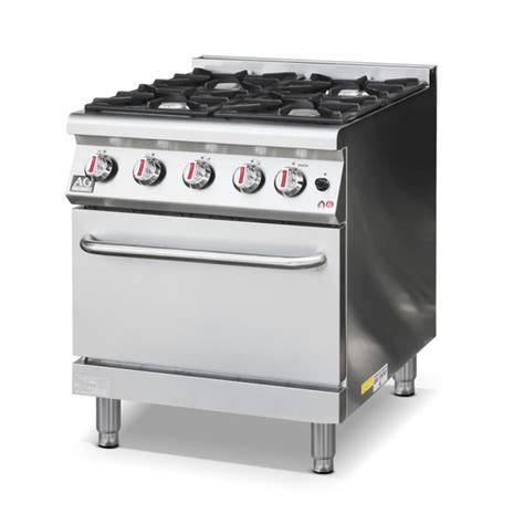 Oven Gas Elpiji commercial 4 burner gas stove cook top with oven lpg