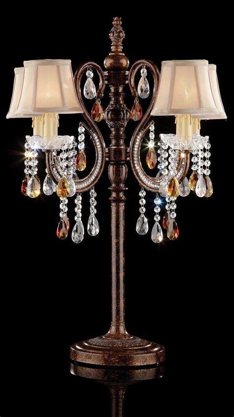 hanging crystal table l juliet golden brown hanging crystal table l from