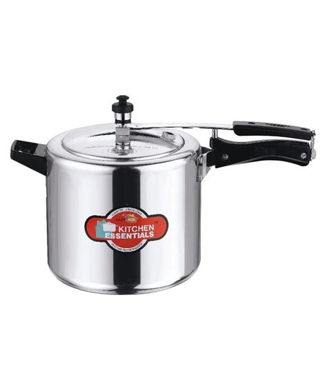 kitchen induction cooker kitchen essentials induction base eazy kook pressure cooker 6 5 litre buy at best price