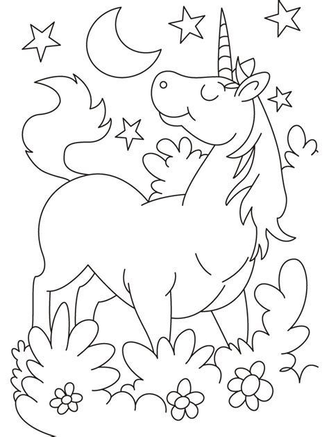 printable coloring pages of unicorns free coloring pages of unicorn and rainbow printable