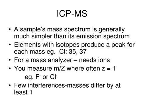 inductive coupled plasma ppt ppt inductively coupled plasma powerpoint presentation id 6090166