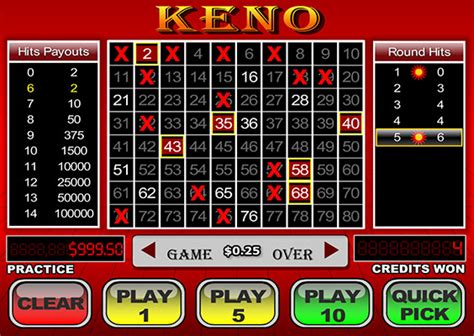 Play Keno Online Win Real Money - instant keno online video