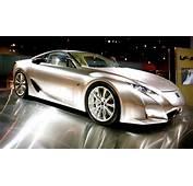 The New Lexus LFA Is A Concept Super Sport Built For