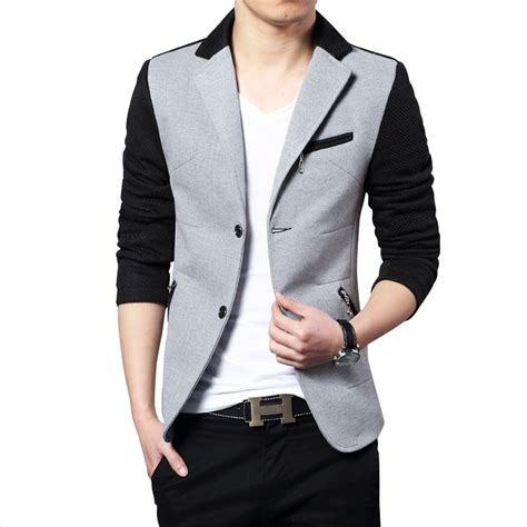foto design jaket blazers for men with jeans trendy clothes