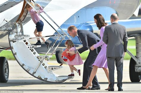 Footstep Royal Backpack prince george follows in prince william s footsteps daily mail