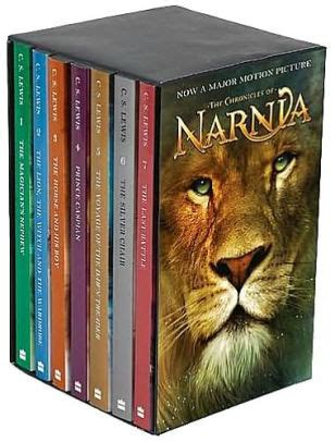 0007528094 the chronicles of narnia boxed the the chronicles of narnia movie tie in boxed set by