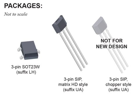 A1210lua T Effect Sensor allegro microsystems a1225 a1227 and a1229