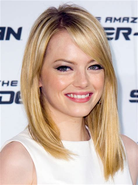 emma stone blonde stylenoted the blushed blonde of emma stone