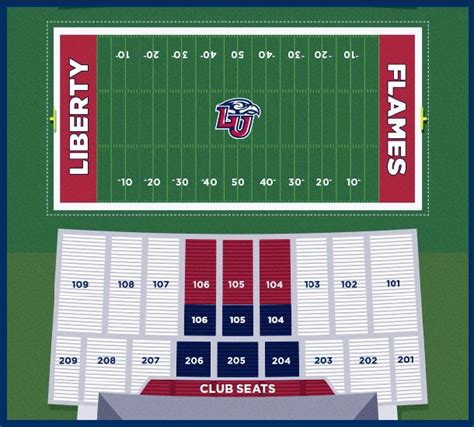 liberty vine center seating chart tickets liberty flames