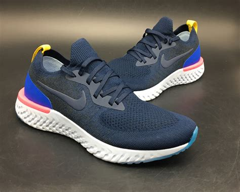 Harga Nike React Flyknit acquistare nike epic react flyknit mens blue 55