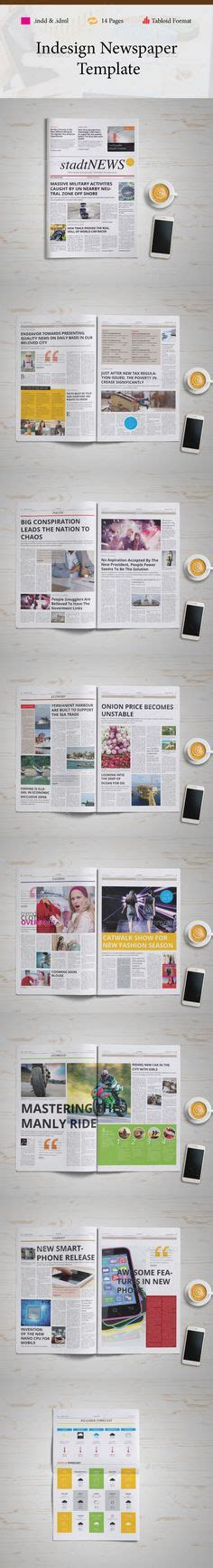 newspaper layout indd tabloid indesign newspaper templates newspaper and design