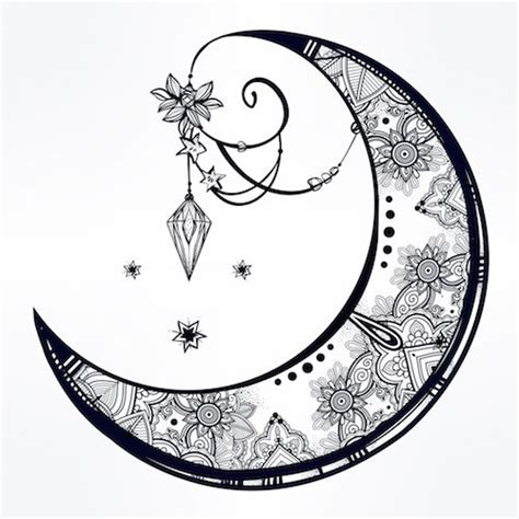 what does a moon tattoo mean nature symbol tattoos www pixshark images