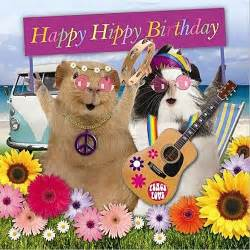 Happy Birthday Guinea Pig Card Funny Guinea Pig Birthday Card Happy Hippies Beach Vw