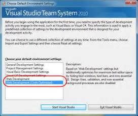 visual studio code reset settings scottgu s blog code optimized web development profile