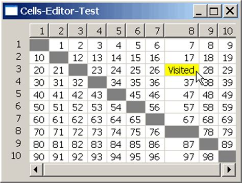 layout editor cell array dialogue exles