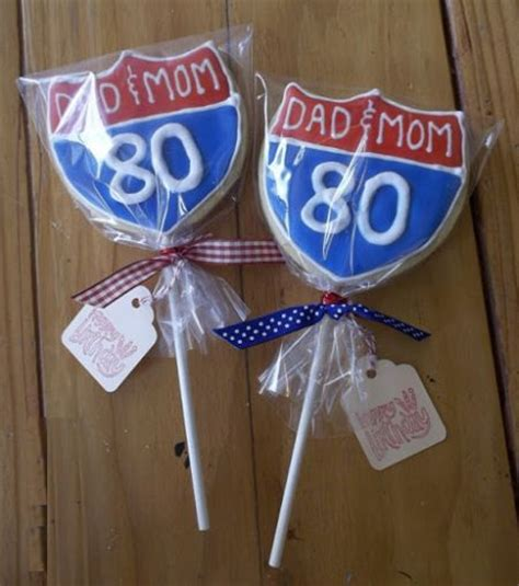 Giveaways For 80th Birthday - 80th birthday party favors