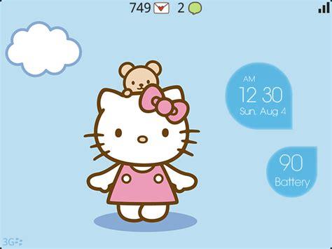 themes hello kitty blackberry 9220 premium bubble theme hello kitty edition blackberry