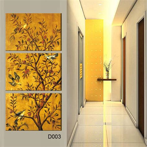 free shipping sell modern wall 3 pieces free shipping popular sell modern wall painting flower bird home wall picture