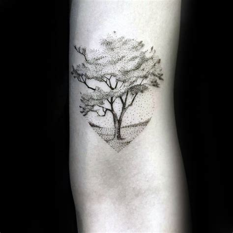 100 forearm small tattoos dotwork 60 small tree tattoos for masculine design ideas