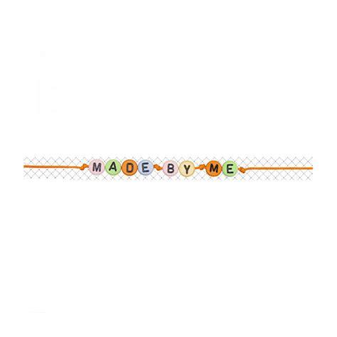 perline con lettere perline con lettere alfabeto sferiche design altre
