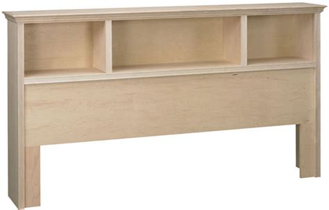 King Bookcase Headboard Oak by Roma King Bookcase Headboard Bare Woods Furniture Real