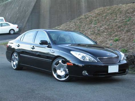 custom lexus es300 06 es330 aftermarket springs wheels club lexus forums