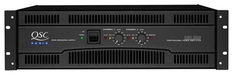 Power Lifier Qsc 5050 rmx 5050 bocinas gt gt gt gt gt