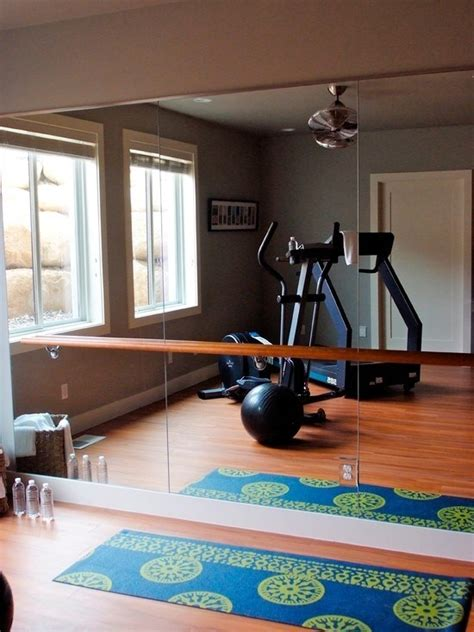 home exercise room design ideas
