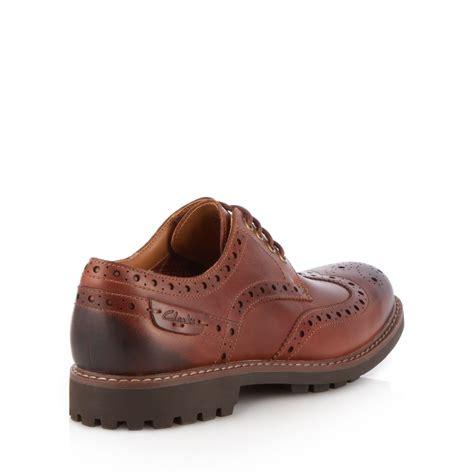 debenhams mens boots clarks shoes cl montacute wing brogue from debenhams ebay