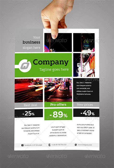 Templates Flyers Indesign | fantastic indesign flyer templates 56pixels com