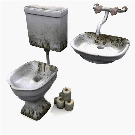 standard prison sink 3dsmax prison wc sink