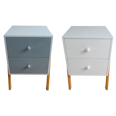 style bedside tables bedside table wooden retro style bed side table 2 colours