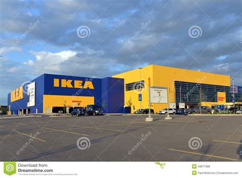 ikea company ikea store in ottawa canada editorial stock photo image