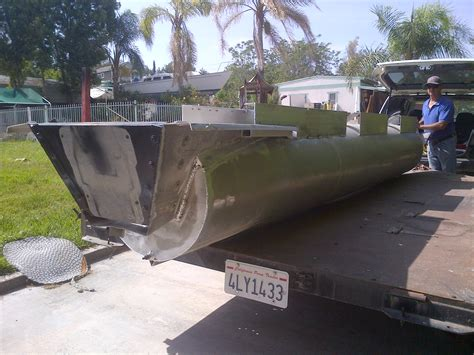 pontoon boat trailer modifications img 20140519 00038 jb fabrication and welding
