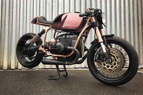 bmw motorcycle cafe racer chalcolithic caf 233 racer bmw r100 r mystic of