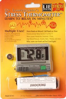 Thermometer Magic stress anxiety biofeedback relaxation skills my