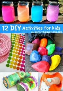 Fun Kid Activities at Home