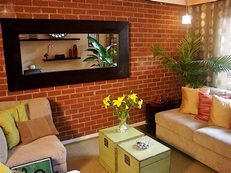 brick accent wall 25 brick wall designs decor ideas for living room