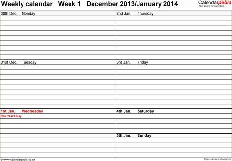 calendar templates excel exceltemplates