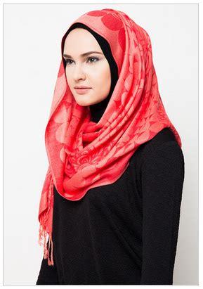 Contoh Jilbab Pashmina Desain Busana Pashmina Modern Terkini New Tutorial