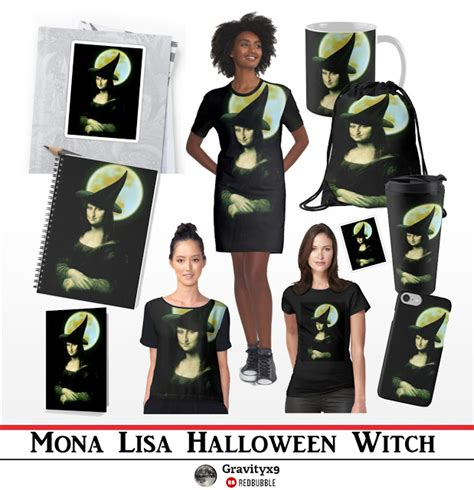 spoofingthearts witch the lovely mona is available at redbubble