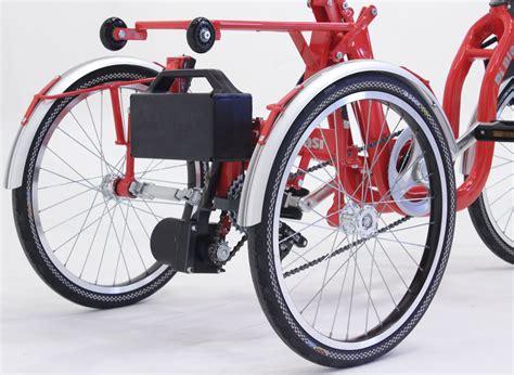 Di Blasis Motorized Folding Tricycle by Di Blasi R34 Folding Electric Italian Tricycle