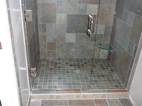 Dusche Bodengleich Fliesen by Knapp Tile And Flooring Inc Custom Shower