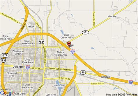 map of abilene texas map of residence inn abilene abilene