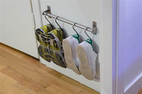 ikea shoe rack hack 15 ikea hacks for small entryways